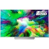 LED TV 49'' PHILIPS 49PUS7803/12, Android, 4K UHD,  DVB T/C/T2/T2-HD/S/S2, HDMI, USB, Ambilight 3, Srebrna , A