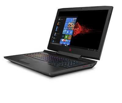 "Prijenosno računalo HP Omen 17 4UD18EA / Core i7 8750H, 16GB, 256GB SSD, GeForce GTX 1070 8GB, 17.3"" IPS FHD, Windows 10, crno"
