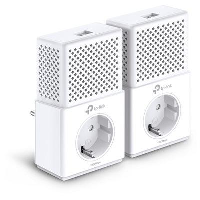 Powerline adapter TP-LINK AV1000 TL-PA7010P KIT, dodatna strujna utičnica AV2, G-LAN, duplo pakiranje