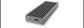 Eksterno kućište ICY BOX IB-1817M-C31, M.2 NVMe SSD, USB 3.1 Type-C, Aluminijsko kućište, sivo