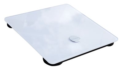 Pametna vaga MAXMOBILE CS20C1, BT, BMI, BMR, LCD, BIA tehnologija, bijela