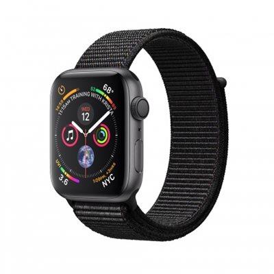 Pametni sat APPLE Watch Series 4 GPS, 40mm, sivi, crna sportska narukvica
