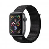 Pametni sat APPLE Watch Series 4 GPS, 44mm, sivi, crna sportska narukvica