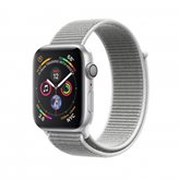 Pametni sat APPLE Watch Series 4 GPS, 44mm, srebrni, siva sportska narukvica