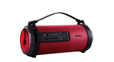 Zvučnik VIVAX Vox BS-101, bluetooth, USB, AUX, crveni