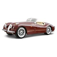 Maketa BBURAGO, Jaguar XK 120 roadster, 1:24