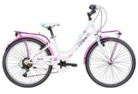 """Dječji bicikl FRERA Divina, Shimano Tourney, kotači 20"""", bijeli"""