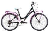"""Dječji bicikl FRERA Divina, Shimano Tourney, kotači 20"""", crni"""