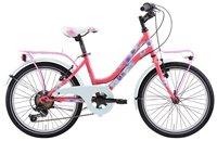 """Dječji bicikl FRERA Divina, Shimano Tourney, kotači 20"""", rozi"""