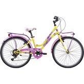 """Dječji bicikl FRERA Divina, Shimano Tourney, kotači 20"""", žuti"""