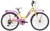 """Dječji bicikl FRERA Divina, Shimano Tourney, kotači 24"""", žuti"""