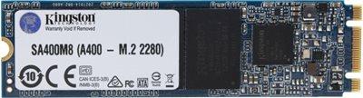 SSD 120.0 GB KINGSTON A400 SA400M8/120G, M.2, 2280, maks do 500/320 MB/s