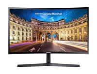 """Monitor 23.6"""" SAMSUNG LC24F396FHUX, 4ms, 250cd/m2, 3.000:1, zakrivljeni, crni"""