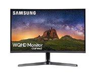 """Monitor 27"""" SAMSUNG LC27JG50QQUX, 144Hz, 4ms, 250cd/m2, 3.000:1, zakrivljeni, crni"""