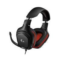 Slušalice LOGITECH Gaming G332, crne