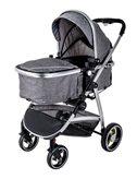 Dječja kolica PRIMEBEBE Palli 2u1, za djecu od 6mj, do 15kg, siva