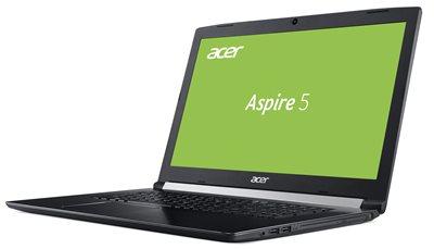 "Prijenosno računalo ACER Aspire 5 NX.GVQEX.020 / Core i5 8250U, 8GB, 1000GB, GeForce MX130, 17.3"" LED FHD, Linux, crno"