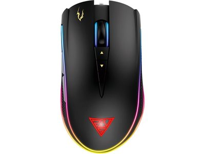 Miš GAMDIAS ZEUS P2 RGB, optički, 16000dpi, crni, USB