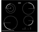 Ugradbena ploča ZANUSSI ZEI6840FBA, indukcijska ploča za kuhanje, crna