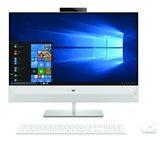 """Računalo AiO HP 27-xa0000ny 5KS12EA / Hexa Core i7 8700T, 8GB, 256GB SSD, GeForce MX130, 27"""" FHD, tipkovnica, miš, DOS, bijelo"""