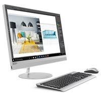 "Računalo AiO LENOVO IdeaCentre 520 F0DJ003RSC / Quad Core i3 8100T, 8GB, 2000GB, HD Graphics, 24"" FHD, tipkovnica, miš, DOS, srebrno"