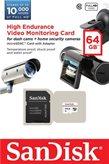 Memorijska kartica SANDISK, microSDXC, 64 GB, SDSDQQ-064G-G46A, Class 10