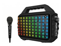 Karaoke iDANCE Blaster 400, BT, disco LED, FM, baterija, mikrofon