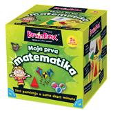 Društvena igra BRAINBOX Moja prva matematika HR