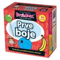 Društvena igra BRAINBOX Prve boje HR