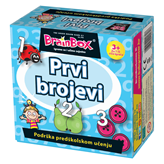Društvena igra BRAINBOX Prvi brojevi HR