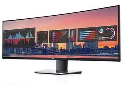 """Monitor 49"""" DELL U4919DW, 8ms, 350cd/m2, 1000:1, zakrivljeni, crni"""