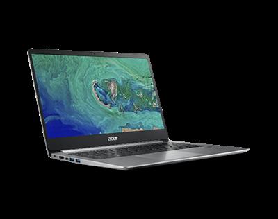 "Prijenosno računalo ACER Swift 1 NX.GXHEX.005 / Pentium N5000, 4GB, 64GB SSD, HD Graphics, 14"" IPS FHD, Windows 10S, srebrno"