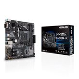 Matična ploča USED ASUS PRIME B450M-K, AMD B450, mATX, s. AM4