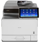 Multifunkcijski uređaj NASHUATEC MPC307SPF, printer/scanner/copy/fax 1200dpi, 2GB, USB, LAN, WiFi
