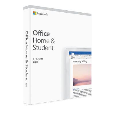 MICROSOFT Office 2019 Home and Student, 79G-05033, Engleski jezik, bez medija - za bundle uz HP prijenosnike