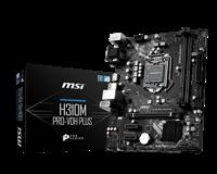 Matična ploča USED MSI H310 PRO-VDH PLUS, Intel H310, DDR4, mATX, s. 1151 – za 8/9Gen procesore