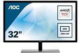 """Monitor USED 31.5"""" LED AOC Q3279VWF, QHD, 75 Hz, 5ms, 250cd/m2, 20000000:1, crni"""