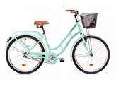 Ženski bicikl CAPRIOLO Picnic, vel. 17˝, kotači 26˝, pistacia