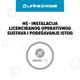 HS - Instalacija licenciranog operativnog sustava i podešavanje istog