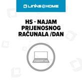 HS - Najam prijenosnog računala /dan