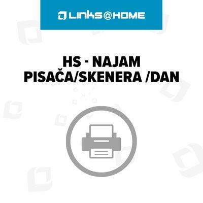 HS - Najam pisača/skenera /dan