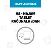 HS - Najam tablet računala /dan