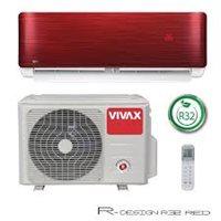 Klima uređaj VIVAX ACP-12CH35AERI RED R Design R32 - inv., 3,81/3,52, A++