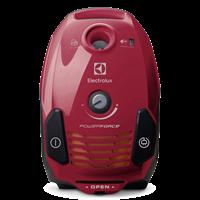 Usisavač ELECTROLUX EPF61RR, 700W, SBag, perivi izlazni Hygiene filter, A, crvena