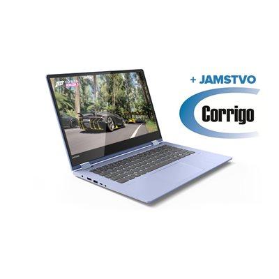 """Prijenosno računalo LENOVO Yoga 530 81EK00JASC / Core i3 8130U, 8GB, 256GB SSD, HD Graphics, 14"""" HD Touch, Windows 10, plavo + Corrigo jamstvo 24mj"""