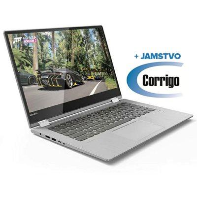 """Prijenosno računalo LENOVO Yoga 530 81EK00JBSC / Core i3 8130U, 8GB, 256GB SSD, HD Graphics, 14"""" HD Touch, Windows 10, sivo + Corrigo jamstvo 24mj"""