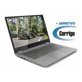 "Prijenosno računalo LENOVO Yoga 530 81EK00JCSC / Core i3 8130U, 8GB, 256GB SSD, HD Graphics, 14"" HD Touch, Windows 10, crno + Corrigo jamstvo 24mj"