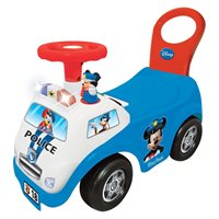 Guralica za djecu KIDDIELAND TOYS, Mickey policijski auto