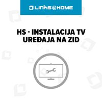 HS - Instalacija TV uređaja na zid, 1 radni sat