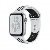 Pametni sat APPLE Nike + Series 4 GPS, 40mm, srebrni, crni sportski Nike remen